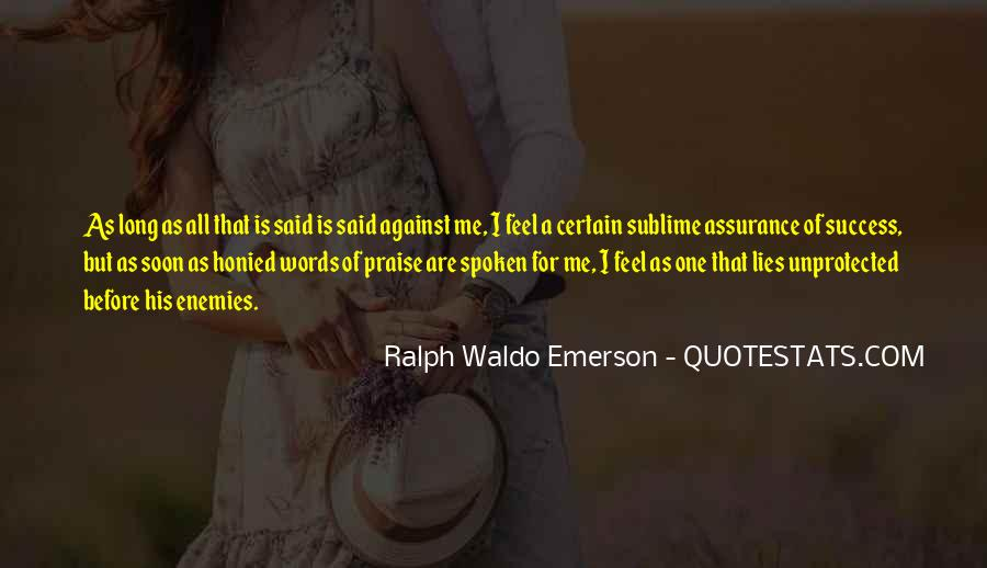 Words That Are Spoken Quotes #1435735