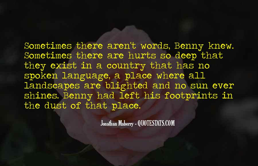 Words That Are Spoken Quotes #1637751