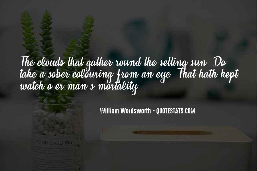 Wordsworth's Quotes #1001521