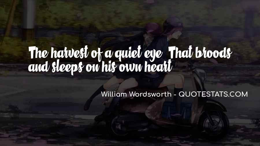Wordsworth's Quotes #11517