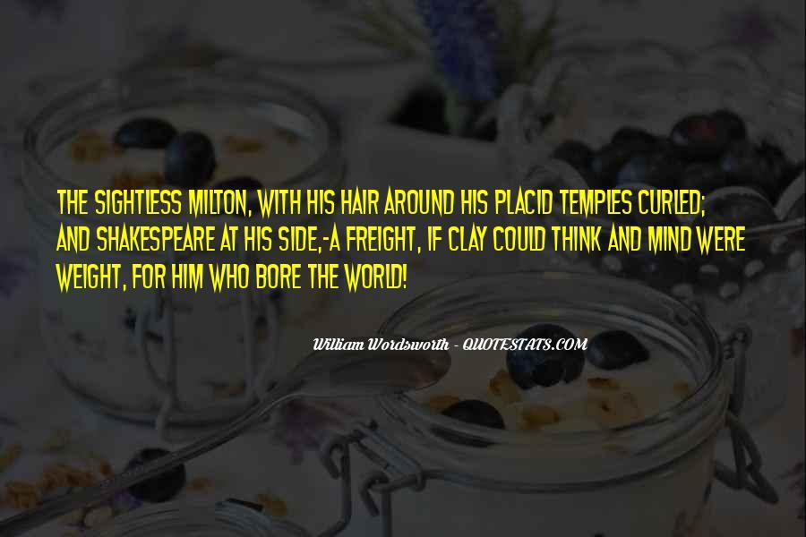 Wordsworth's Quotes #118604