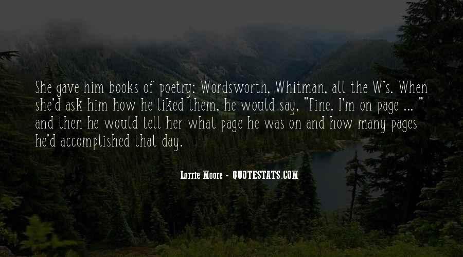 Wordsworth's Quotes #1352281