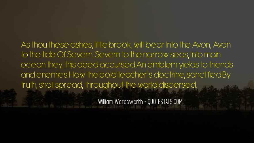 Wordsworth's Quotes #1552410