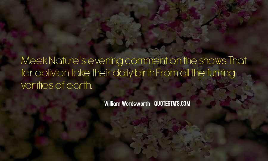 Wordsworth's Quotes #1603426