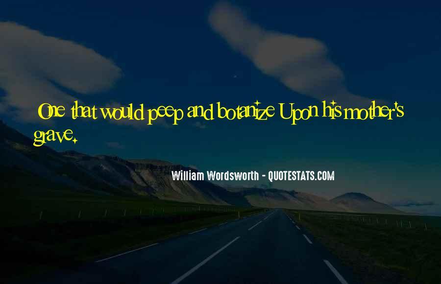 Wordsworth's Quotes #1604726