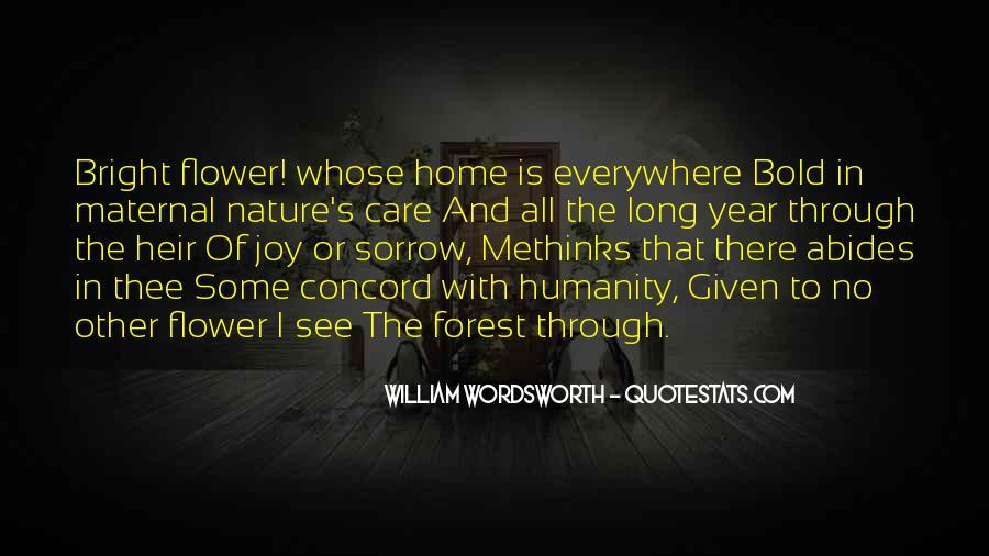 Wordsworth's Quotes #1628878