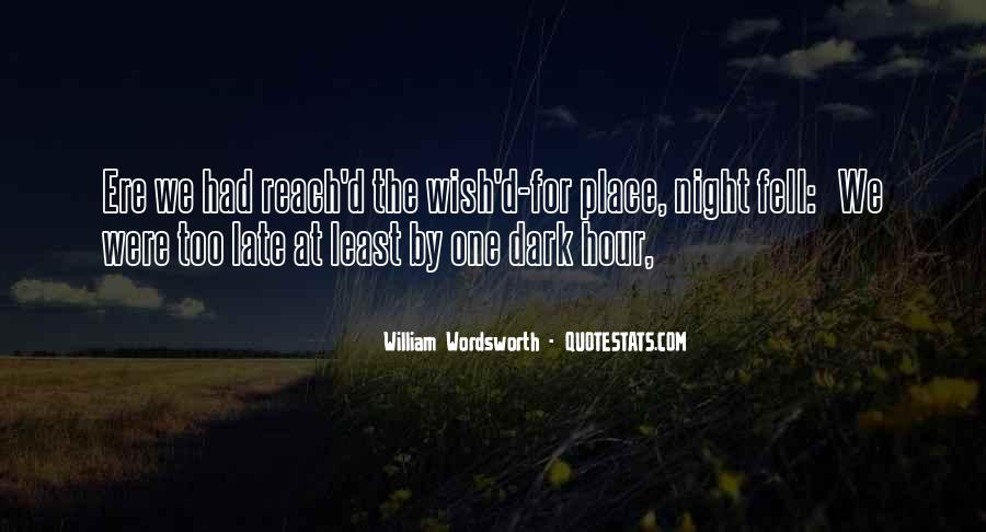 Wordsworth's Quotes #30131