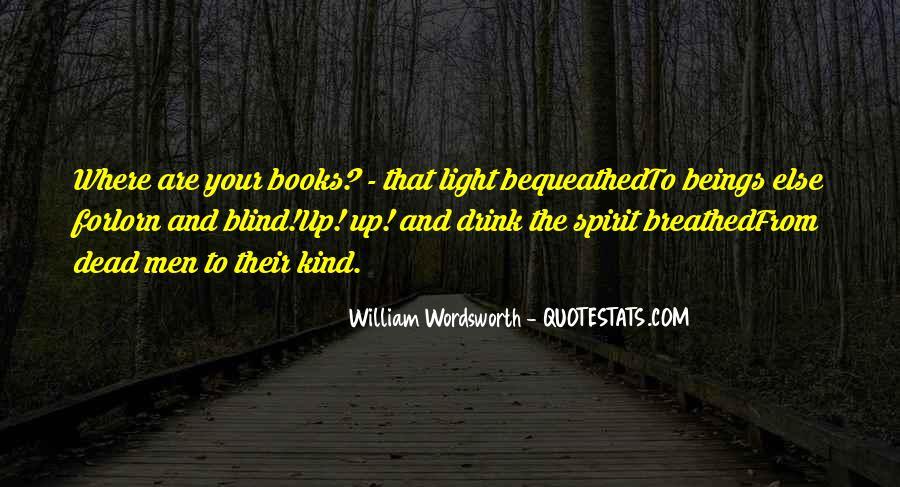 Wordsworth's Quotes #31778