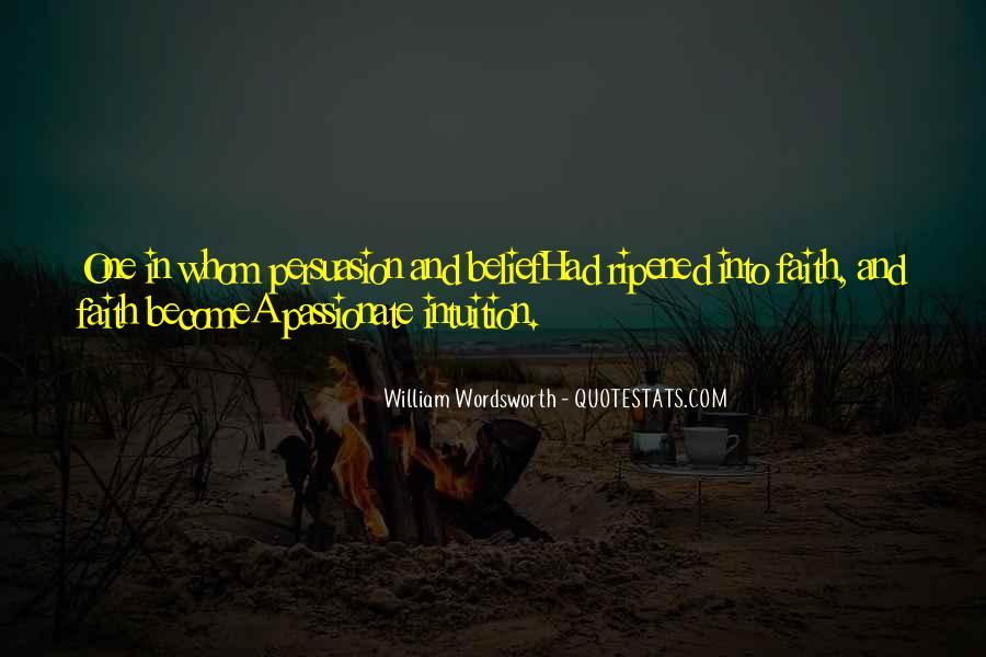 Wordsworth's Quotes #32942