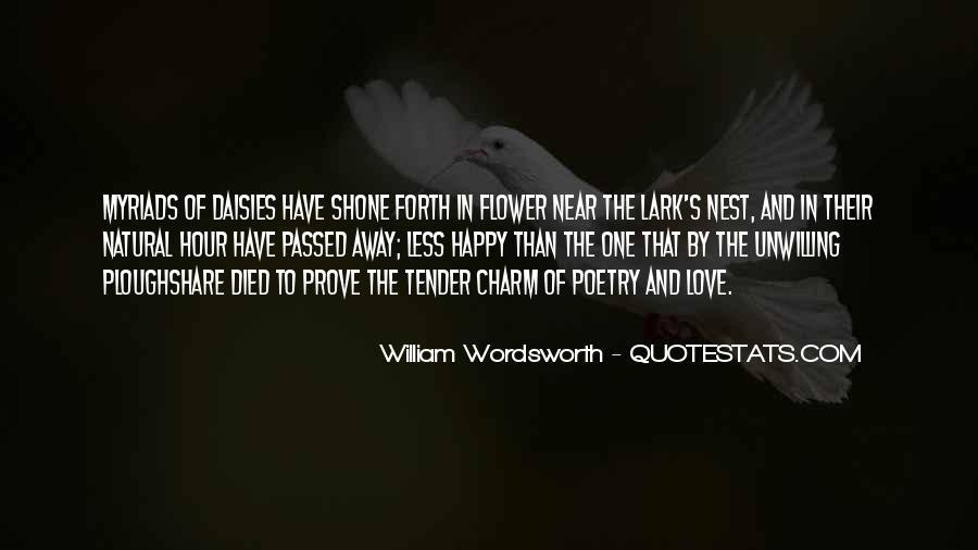 Wordsworth's Quotes #775549