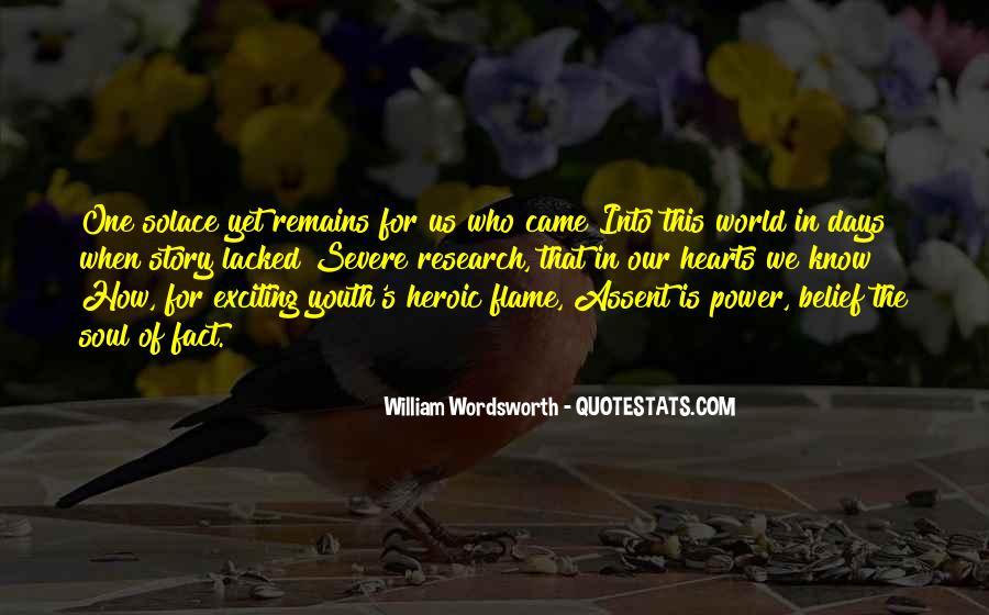 Wordsworth's Quotes #805354