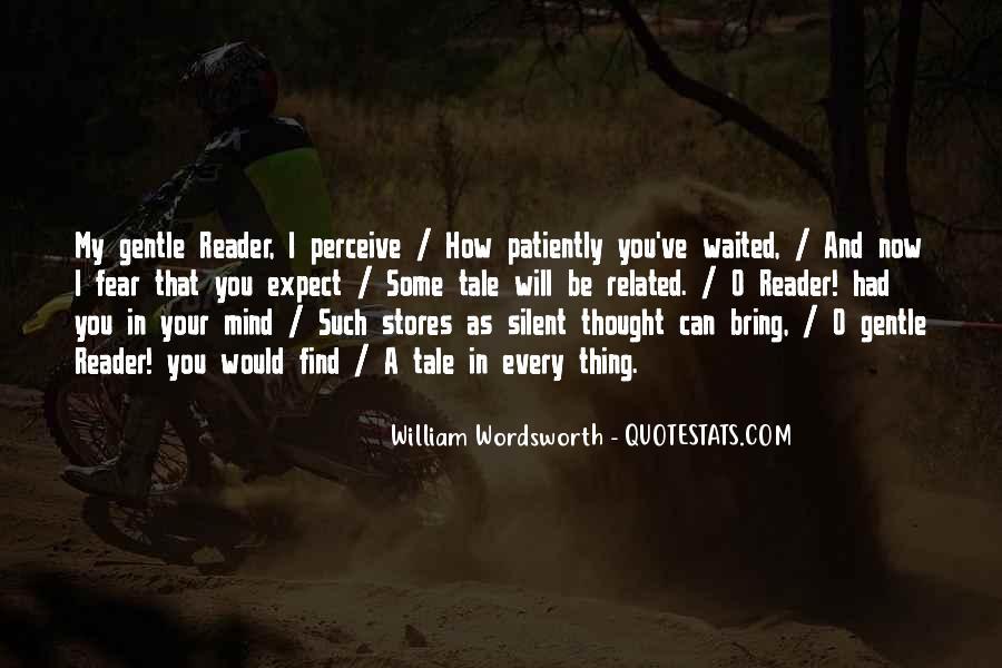 Wordsworth's Quotes #86399