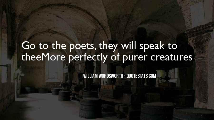 Wordsworth's Quotes #86619