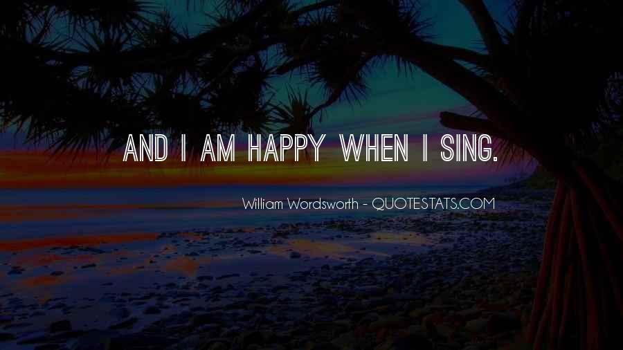 Wordsworth's Quotes #88011