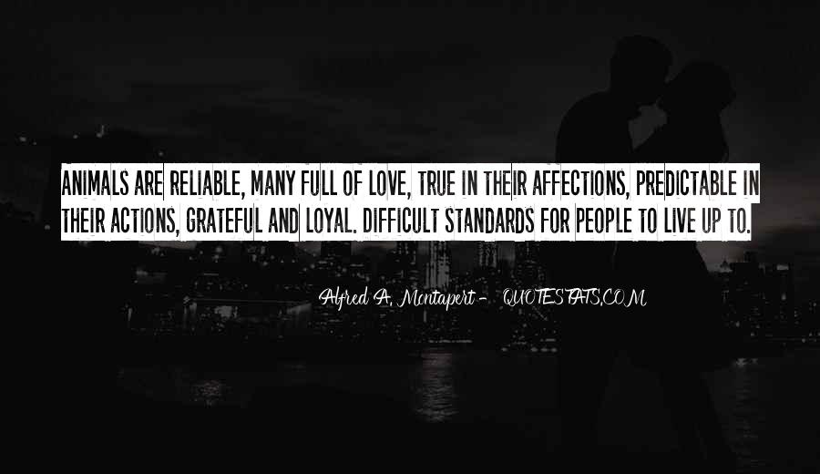 Quotes About Standards Love #156591