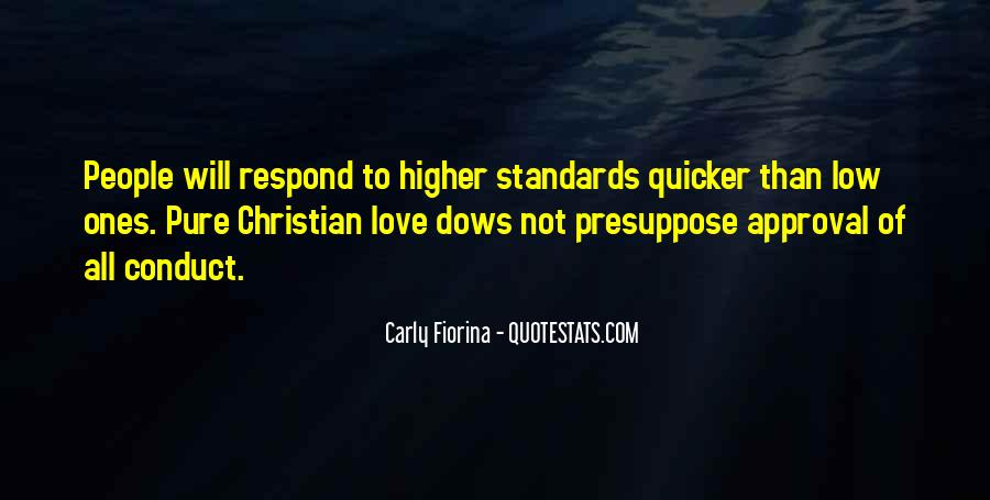 Quotes About Standards Love #448676