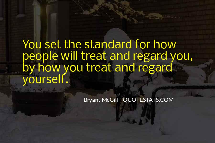 Quotes About Standards Love #776146