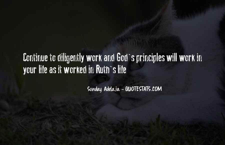 Work Diligently Quotes #710902
