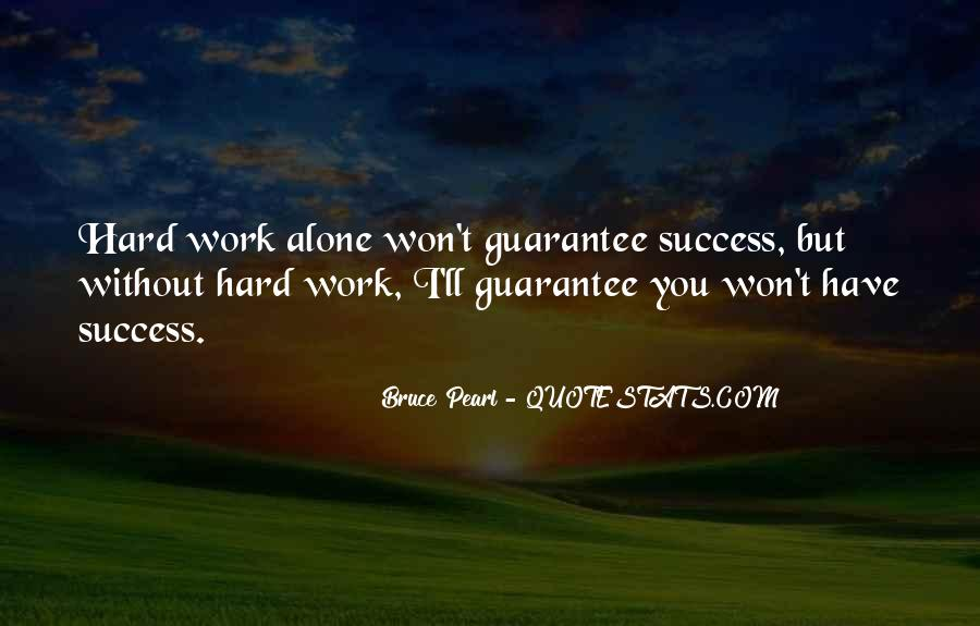 Work Hard Sports Quotes #1404048