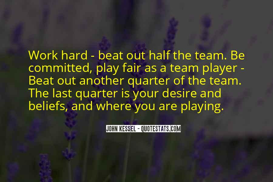 Work Hard Sports Quotes #1577313