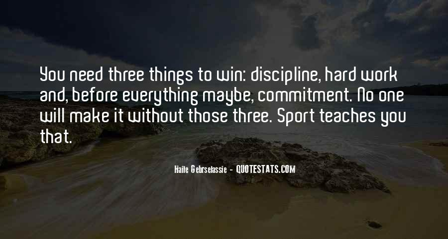Work Hard Sports Quotes #1616162