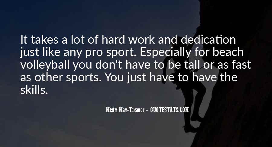 Work Hard Sports Quotes #1694360