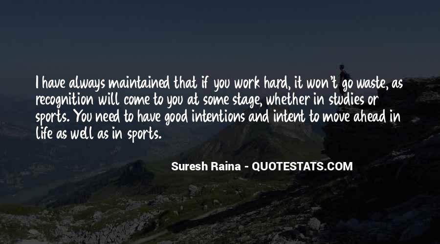 Work Hard Sports Quotes #1837246