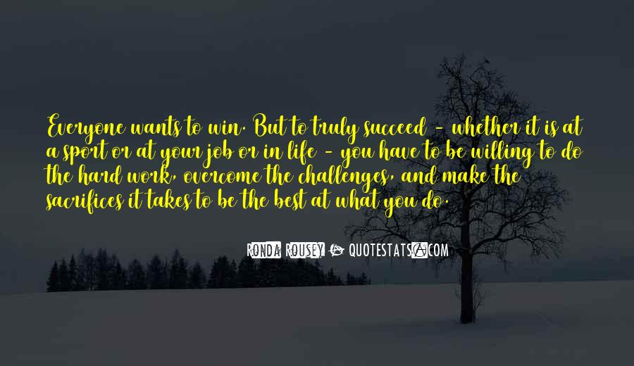Work Hard Sports Quotes #1863447