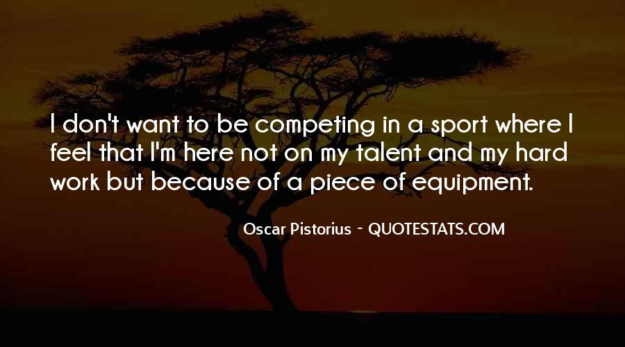 Work Hard Sports Quotes #398078