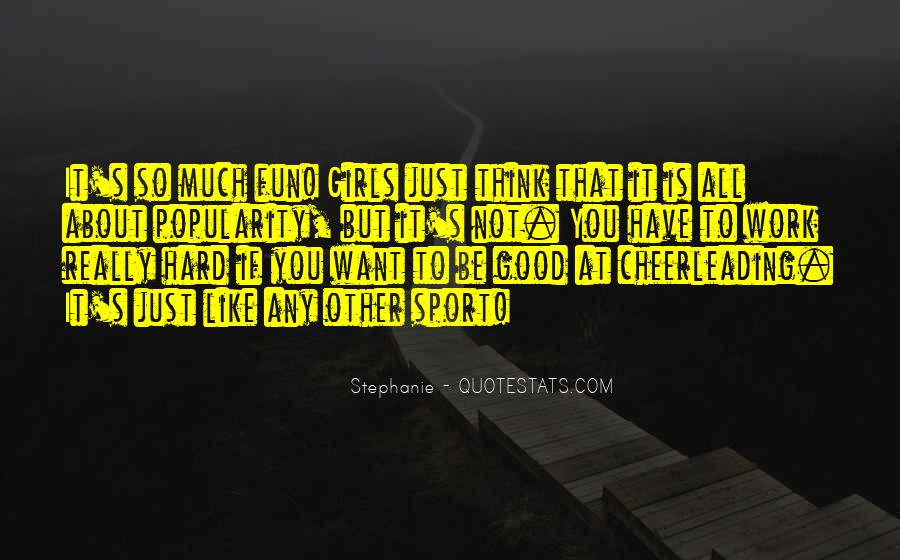 Work Hard Sports Quotes #438941