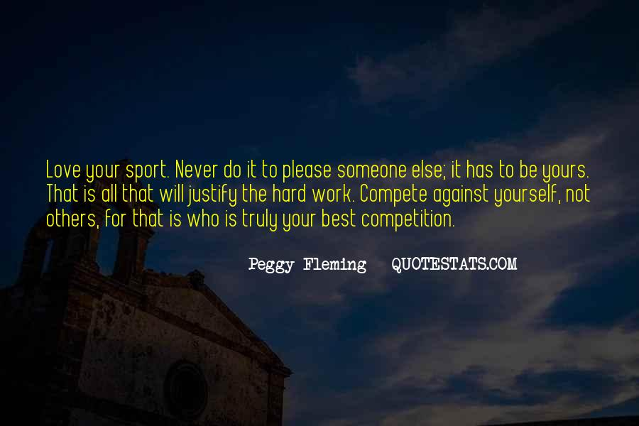 Work Hard Sports Quotes #462077