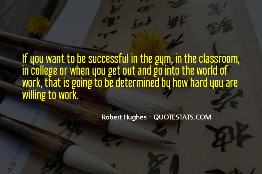 Work Hard Sports Quotes #484199
