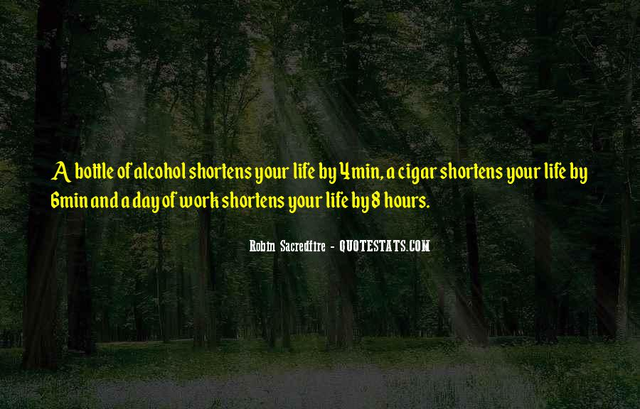 Work Out Alcohol Quotes #1059982