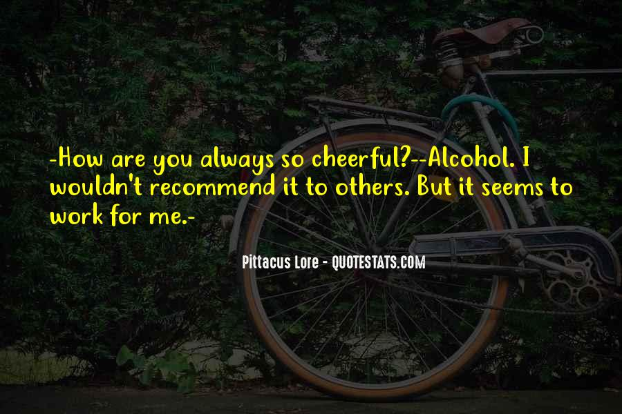 Work Out Alcohol Quotes #1439690