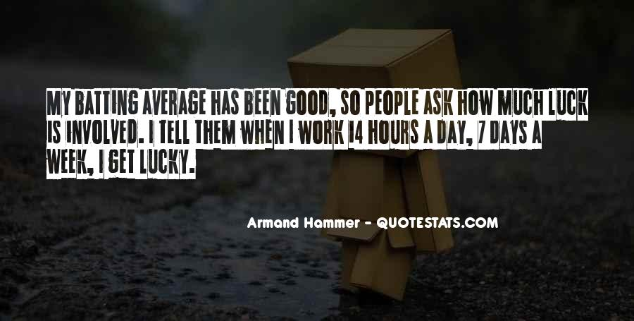 Work Week Over Quotes #235506