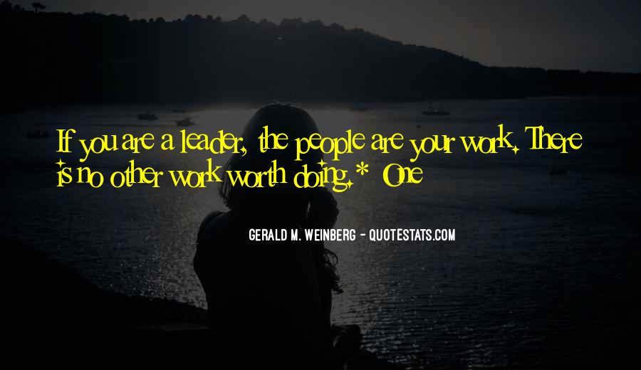 Work Worth Doing Quotes #1001551