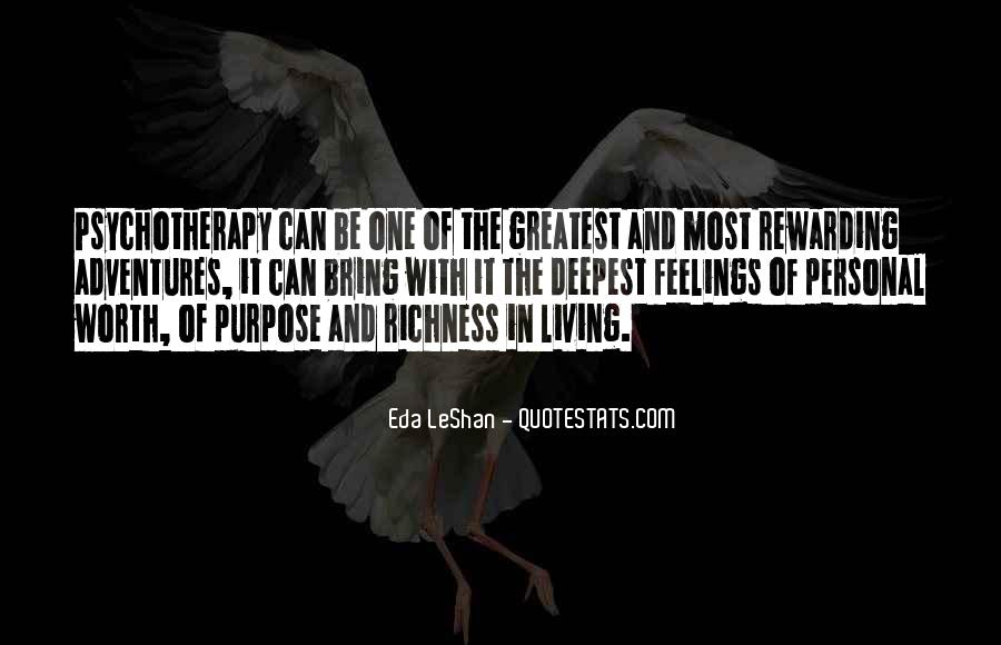 Quotes About Living With Purpose #425507