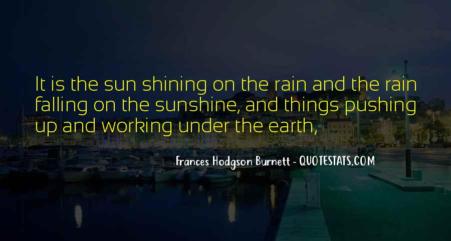 Working In The Rain Quotes #1185364
