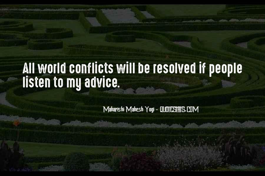 World Conflicts Quotes #1225258