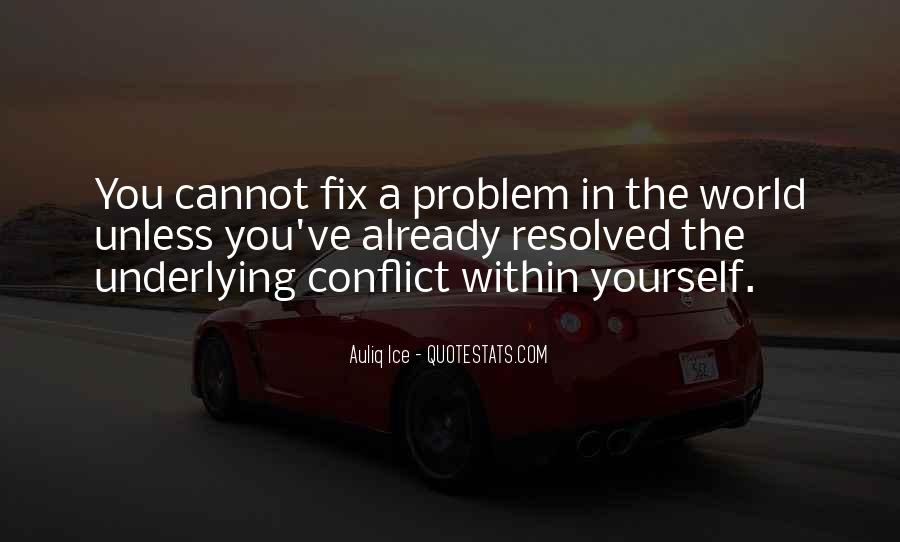 World Conflicts Quotes #1240446