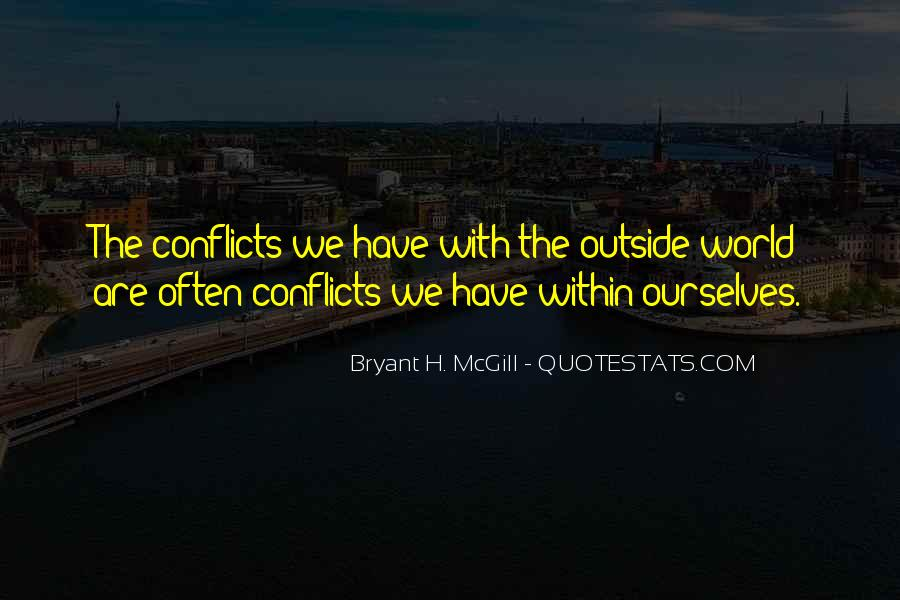 World Conflicts Quotes #1302213