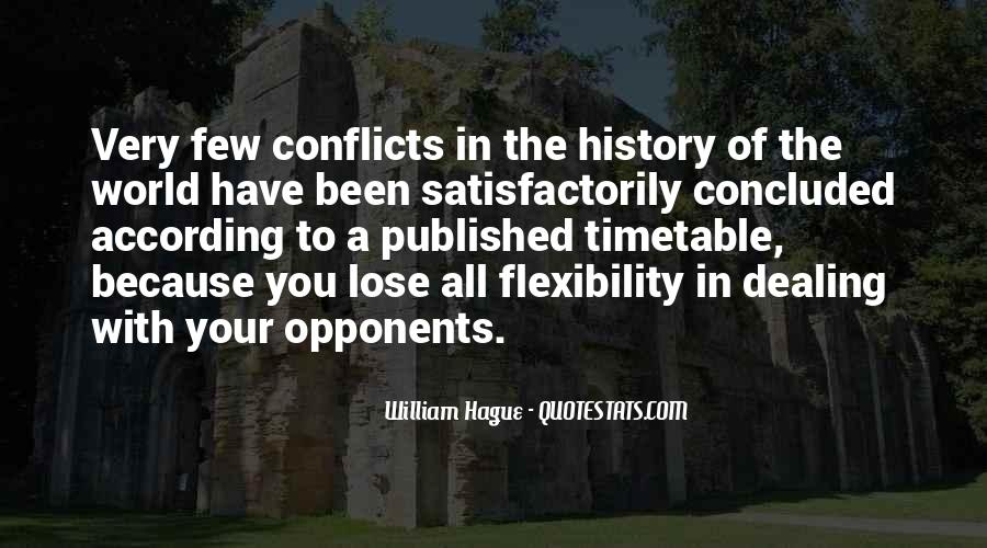 World Conflicts Quotes #1488568