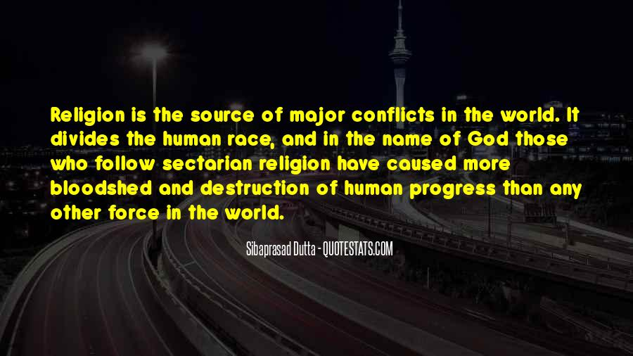 World Conflicts Quotes #1580553