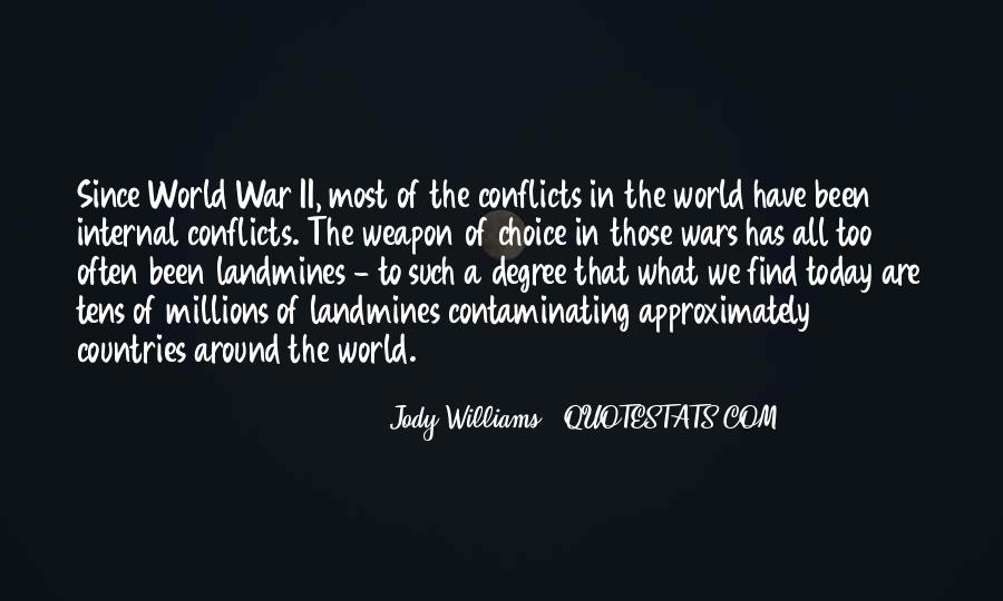 World Conflicts Quotes #1616678