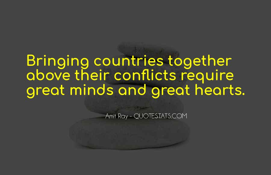 World Conflicts Quotes #1654801