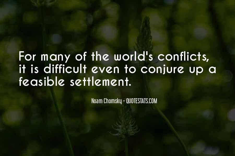 World Conflicts Quotes #165682