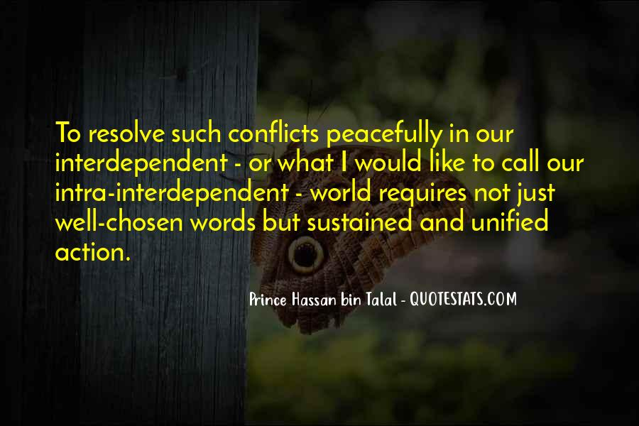 World Conflicts Quotes #363725