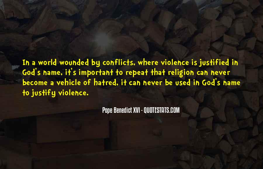 World Conflicts Quotes #387197
