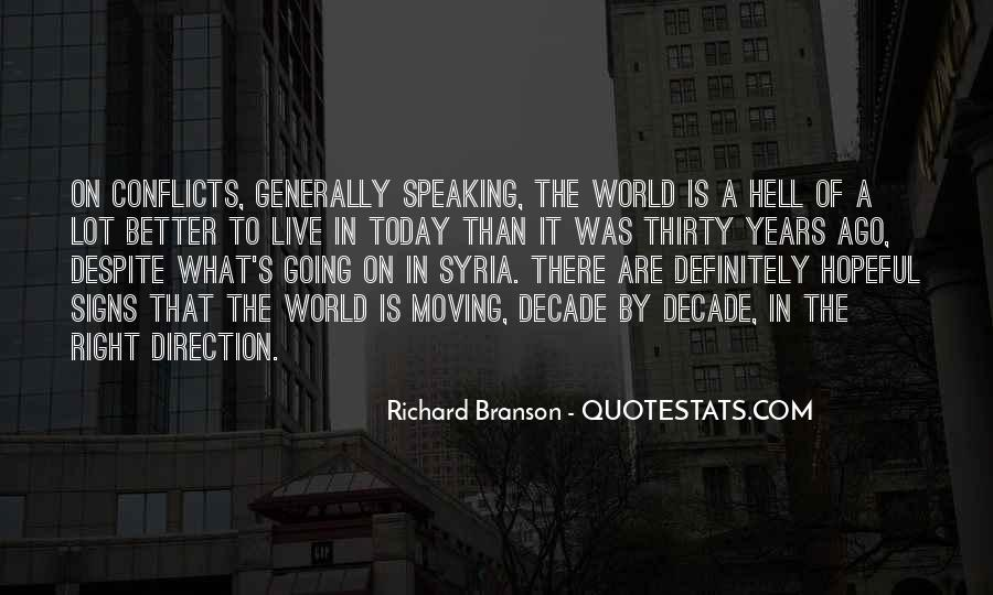 World Conflicts Quotes #798028