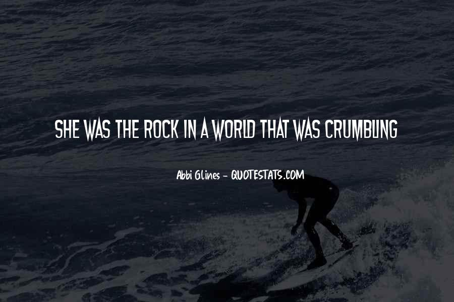 World Crumbling Quotes #162862